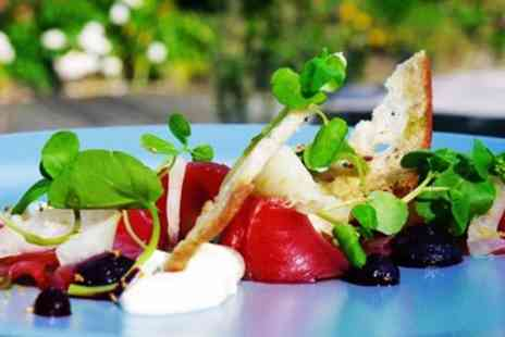 Fox & Hounds - Meal for 2 with coffee in AA Rosette awarded Welsh pub - Save 47%
