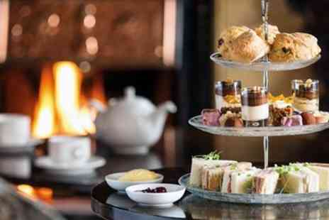 Langdale Chase Hotel - Afternoon tea with champagne for 2 - Save 37%