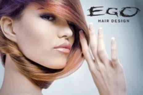Ego Hair Design - Ladies Cut, Conditioning Treatment, and Blow Dry - Save 0%