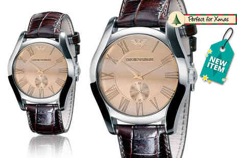 GK1706 - Mens classic Emporio Armani AR0645 watch - Save 57%