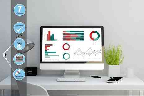 Ecourses4you - Accredited microsoft excel course or course bundle - Save 95%