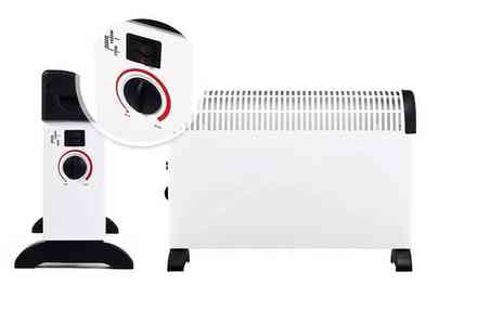 Who Needs Shops - 2kW wall mountable convector heater leave free standing or mount on your wall - Save 74%