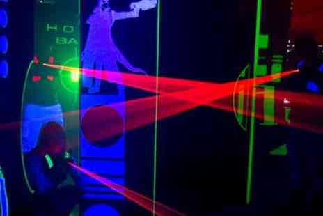 Teamworks Karting Head office - Three Games of Laser Tag for One, Two or Four - Save 53%