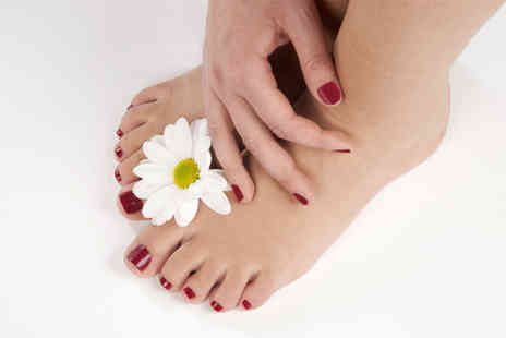 Timeless Beauty - Shellac manicure and pedicure - Save 71%