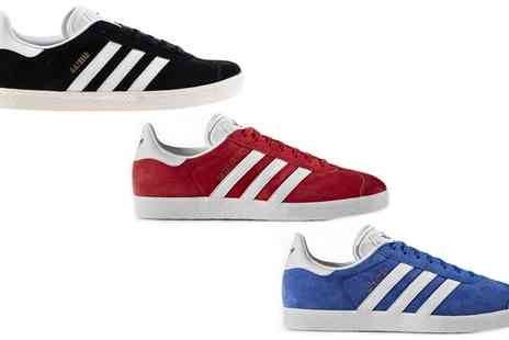Groupon Goods Global GmbH - Adidas Gazelle Unisex Trainers With Free Delivery - Save 9%