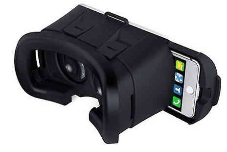 HXT Goods - 3D Virtual Reality Headset iPhone & Android Smartphone Compatible - Save 88%