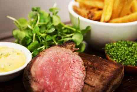 Purnells Bistro & Gingers Bar - Three course celeb chef meal with bubbly for 2 - Save 47%