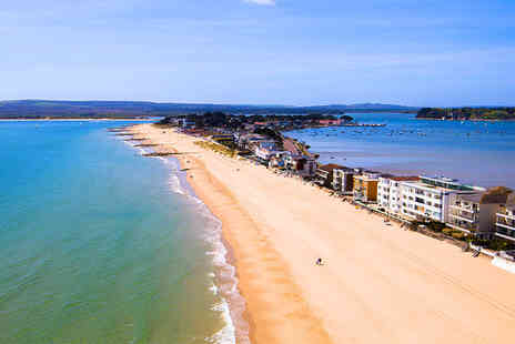 Sandbanks Hotel - Four Star One or Two night stay for two including breakfast, bottle of wine and late checkout - Save 54%
