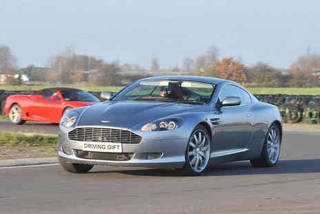 Driving Gift - Aston Martin DB9 thrill driving experience with Driving Gift choose from two locations - Save 61%