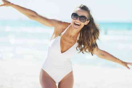 Lazerlady - Three Ipl Hair Removal Sessions on a Small, Medium or Large Area of Choice - Save 52%