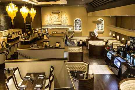 Badshah Palace Restaurant - Three Course Indian Meal with a Drink or Mocktail for Two or Four - Save 48%