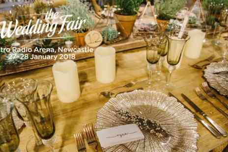 The Wedding Fair - Two General Admission to The Wedding Fair on 27 and 28 January 2018 - Save 54%