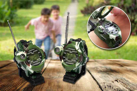 DM Logistic Solutions - Pair of walkie talkie watches - Save 77%