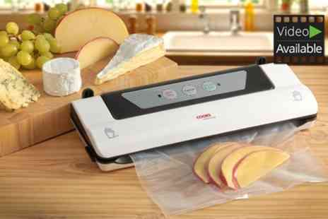Groupon Goods Global GmbH - Cooks Professional Vacuum Sealer - Save 53%