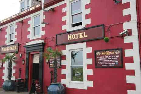 The Anchorage Hotel - One or Two Nights Stay for Two with Breakfast, Food Discount and Option for Dinner - Save 0%