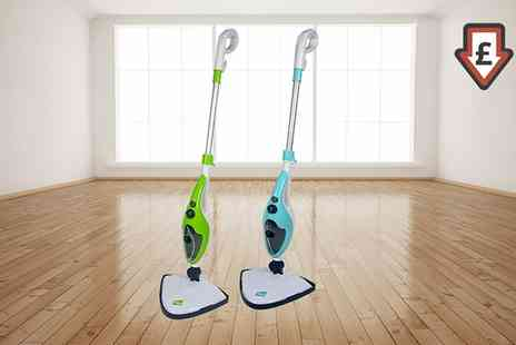 Groupon Goods Global GmbH - Neo 10 in 1 1500W Steam Mop Cleaner with Optional Extra Pad Packs - Save 75%