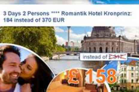 Romantik Hotel - 3 Days 2 Persons in Berlin - Save 50%