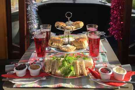 Lancashire Canal Cruises - Festive Afternoon Tea Cruise for Two or Four - Save 50%