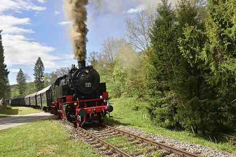 Red Letter Days - Family steam railway trip for four people through the English countryside - Save 0%