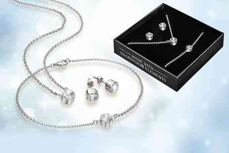 Lily Spencer London - Tri set made with crystals from Swarovski - Save 77%