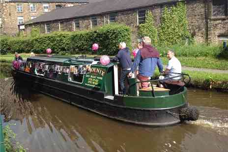 Phoenix Day Boat Hire - Eight hours of narrowboat hire for up to 12 - Save 51%