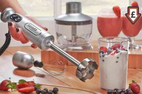 Groupon Goods Global GmbH - Cooks Professional Stick Blender with Accessories - Save 68%
