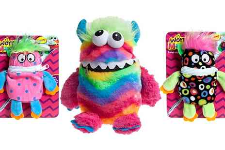 Groupon Goods Global GmbH - One, Two or Four Plush Worry Monsters - Save 63%