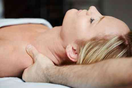 Victorias Beauty Salon - Back, Neck and Shoulder Massage with Manicure, Pedicure or Both - Save 53%