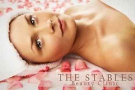 The Stables Beauty Clinic - Beauty Treatments Two Such as Facial and Full Leg Wax  - Save 60%