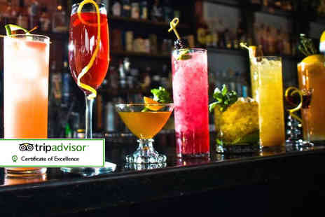 The Villager - Four cocktails of your choice with nachos to share for up to four - Save 64%