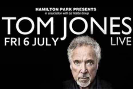 Hamilton Park Racecourse - Tom Jones Live For Six Tickets To Concert - Save 51%