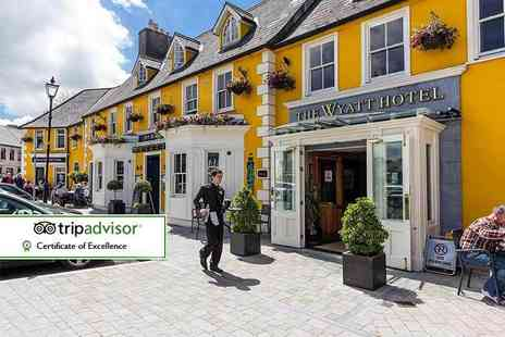 The Wyatt Hotel - One or Two night stay for two people with breakfast, leisure facilities access and late check out - Save 38%