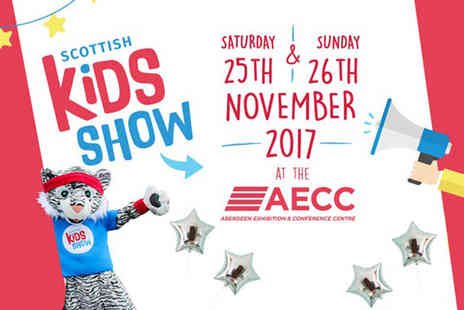 Scottish Kids Show - Ticket for one adult and one child to Scottish Kids Show on the 25th or 26th November - Save 26%