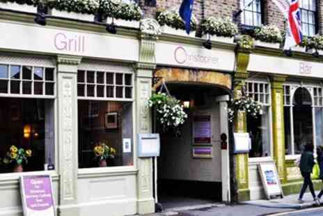 The Christopher Hotel Bar & Grill - Berkshire coaching inn escape with breakfast - Save 0%