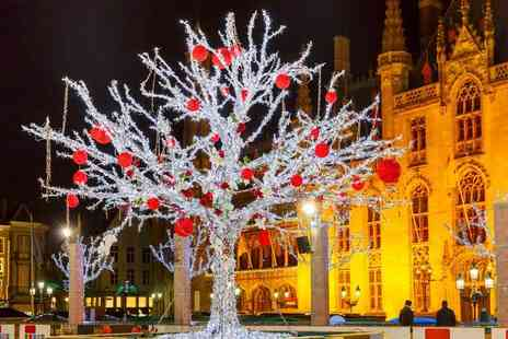 Coach Innovations - Bruges Christmas market day trip including return coach from a choice of five locations - Save 51%