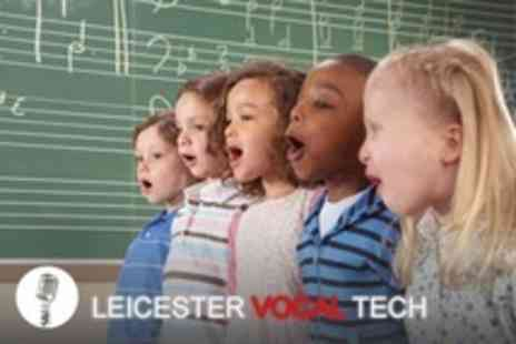 Leicester Vocal Tech - One weeks tuition for 6 to 16 year olds - Save 61%