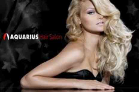 Aquarius Hair Salons - Cut and Finish With Conditioning Treatment - Save 60%