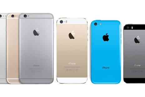 Clickwrap - Refurbished iPhone 5, 5c, 5s, 6 or 7 With Free Delivery - Save 0%