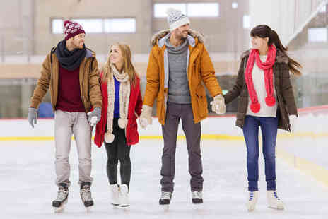 Manchester Ice Rink - Ice skating for two including skate hire - Save 30%