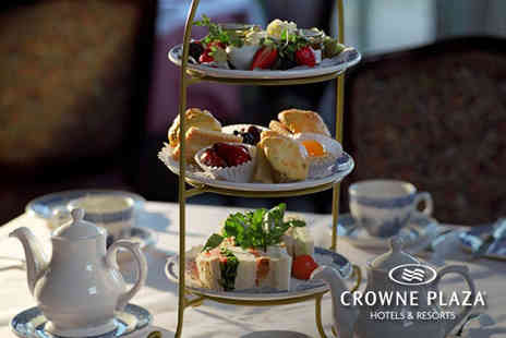 Crowne Plaza - Afternoon tea for two or include a glass of Prosecco each - Save 50%