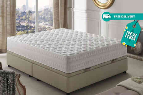 Simpur - Single, double, king or super king size therapy quilted memory mattress plus delivery is included - Save 88%