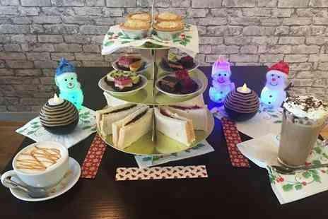 Coffee Factory - Festive afternoon tea for two - Save 0%