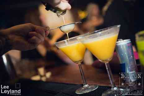 Boston Brothers Bar - Four cocktails try delicious vanilla vodka and more - Save 62%
