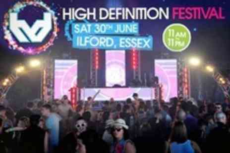 High Definition Festival -  Entry For One in Featuring Pendulum DJ Set and Ms Dynamite - Save 50%
