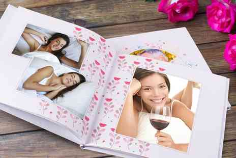 Colorland - One or Two Personalised Hardcover Photobooks with Up to 80 Pages in a Choice of Size - Save 84%