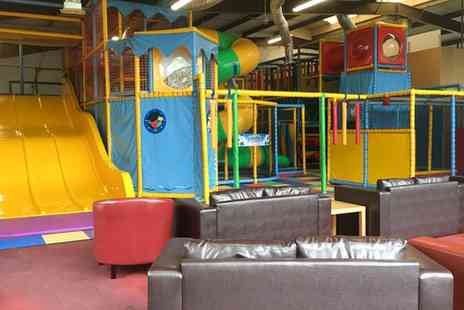 Joes Jungle Soft Play - Soft Play Entry and Meal for Up to Four Kids with a Hot Drink for Up to Four Adults - Save 0%