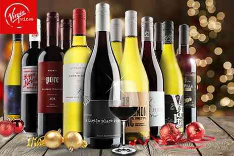 Virgin Wines - Six or 12 bottle selection of hand crafted boutique wine - Save 50%