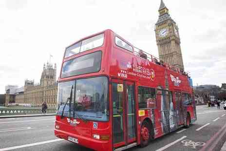 London City Tour - Child or adult ticket for a hop on, hop off bus tour - Save 40%
