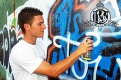 London West Bank - Two Hour Graffiti Class - Save 51%