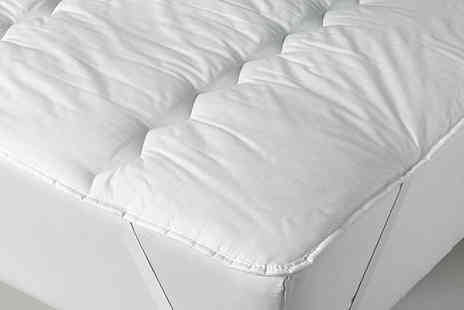 Diana Cowpe - Single, double, king or super king size easy care polycotton mattress topper - Save 64%